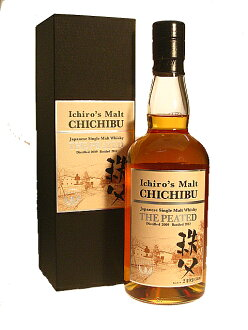 CHICHIBU 2009-2012 The PEATED ICHIRO'S MALT 50.5% 70cl by Venture Whisky JAPAN
