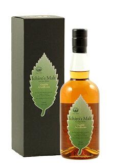 이치 로즈 맥 아 리프 시리즈 더블 디스 티라 스 46% 700ml Ichiro 's Malt Double Distilleries Hanyu & Chichibu 46% 700ml