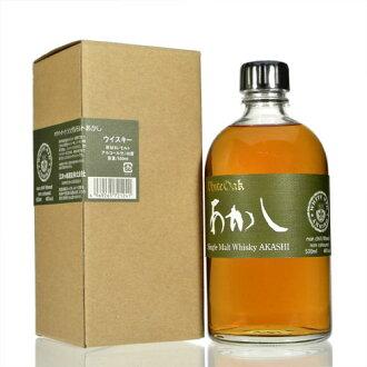 白橡木作证麦芽早期 46 %500 毫升 eigashima 个月岛啤酒厂明石康白橡木 singlemalt 非年龄 46 %50 cl 由 Eigashima 修三