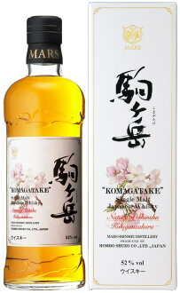 KOMAGATAKE MARS Single Malt NATURE OF SHINSHU  KOHIGANZAKURA  52% 70cl Shinshu Mars Distillery by HOMBOW Shuzo
