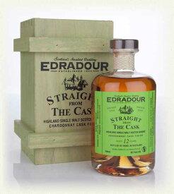 エドラダワー 2000 12年 ストレートフロムザカスク  シャルドネカスクフィニッシュ 56.7% 500ml 木箱入り