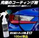 コーティング剤 317 (100ml単品)ガラスコーティング剤 ワックス 車 ガラスコート 新車 バイク 全色対応 洗車