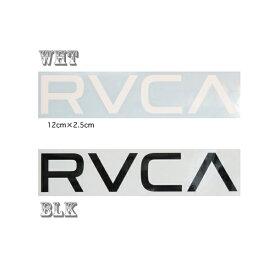 RVCA/ロゴ/ステッカ−/S04
