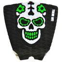 Los Skull Tailpads/ロススカル/デッキパッド/3ピース/green