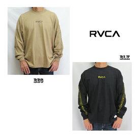 RVCA メンズ INT HAZ LS TEE ロングスリーブTシャツ/042057/2カラー