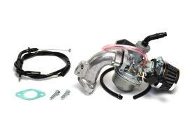 クリッピングポイント製ビッグキャブ20Φ&クリーナーキット(ビッグバルブヘッド用)適合:スーパーカブ50(キャブ車)