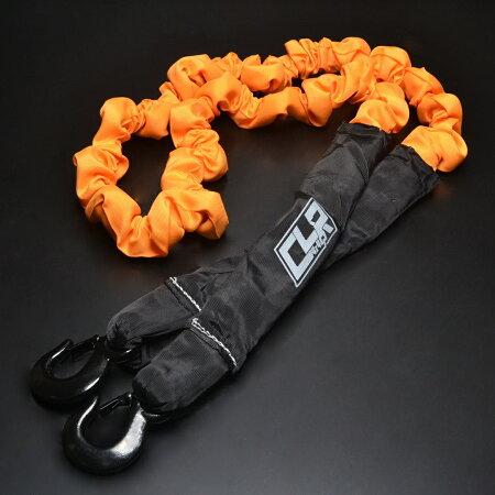【送料無料】保証付き!!牽引ロープ対応荷重12トン!!!ランクルラングラージムニー等のクロカンやレスキューに!!