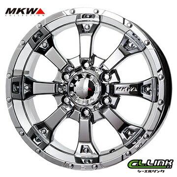 【ポイント5倍 継続中】MKW MK-46 16x8J±0 139.7x6穴 109.8 クールグリッター