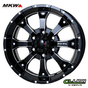 【ポイント5倍 継続中】MKW MK-46_ML+ 16x5.5J+22 139.7x5穴 109 ミルドブラック