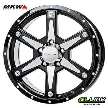 【ポイント5倍 継続中】MKW MK-56 17x7J+35 114.3x5穴 73.1 ミルドマシンブラック
