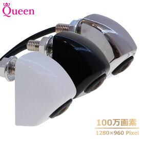バックカメラ 24V CCD 後付け 超広角 バックモニター カメラ ナンバープレート 100万画素 Queen製 カメレオン 4ピン 超小型 ナンバー 12v 汎用 クイーン製 上下反転替え可能 高画質 駐車用 カメラ 無線 ワイヤレス 対応