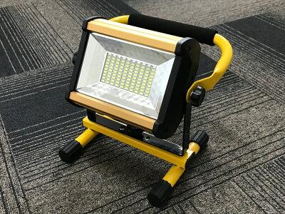 充電式LED投光器30W持ち運び可能懐中電灯フィッシングライト夜釣り看板灯防犯用作業灯キャンプ用品アウトドアワークライト屋外照明電池3本付き