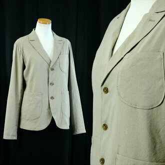 """Cool biz""! -Linen tailored jackets-linen mix casual Jacket-38 / 9 m-dark beige"