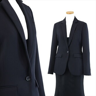 << Cutch re-impression to like well tight >> ● picket-like jersey tailored jacket ● S1B ● 36/7 /S ● navy system