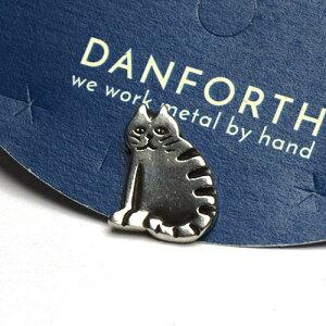 ダンフォース ピンバッチ / バーンキャット(ねこ) Barn Cat 0100【メール便利用可能】 DANFORTH Scatter Pin[ ピンバッジ ブローチ アクセサリー 手作り ハンドメイド ピューター おしゃれ か