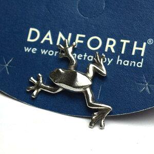 ダンフォース ピンバッチ / ツリーフロッグ Tree Frog 0267【メール便利用可能】 DANFORTH Scatter Pin[ ピンバッジ ブローチ アクセサリー 手作り ハンドメイド ピューター おしゃれ かわいい ギ