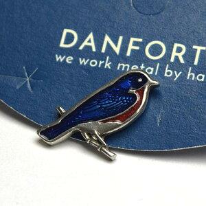 ダンフォース ピンバッチ / ブルーバード Bluebird 2040【メール便利用可能】 DANFORTH Scatter Pin[ ピンバッジ ブローチ アクセサリー 手作り ハンドメイド ピューター おしゃれ かわいい ギフ