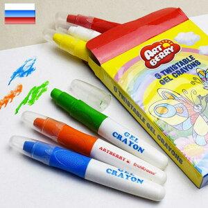 アートベリー ゲルクレヨン 6色セットErichKrause エリッククラウス かわいい クレヨン カラーペン カラーマーカー おもしろ 文房具 文具
