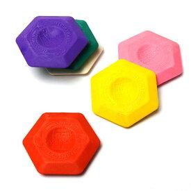 コヒノール 六角形 消しゴム 6223 (6個セット) KOH-I-NOOR サーモプラスチック エルゴノミクス【メール便OK】