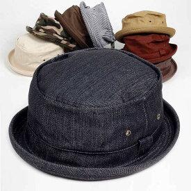 ポークパイハット メンズ レディース スタンダード 年間定番シリーズ ハット帽子 男女兼用 帽子 58cm Mサイズ 選べるカラーバリエーション