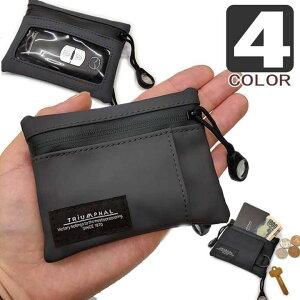 キーケース コインケース パスケース プチ財布 コンパクト ウォレット メンズ レディース 男女共用 防水 実用的 機能的 小サイズ 鍵入れ 小銭入れ 小物 雑貨 4色