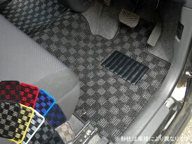 スバル トレジア NSP120系/NCP120系 スポーツチェックフロアマット 全座席分セット