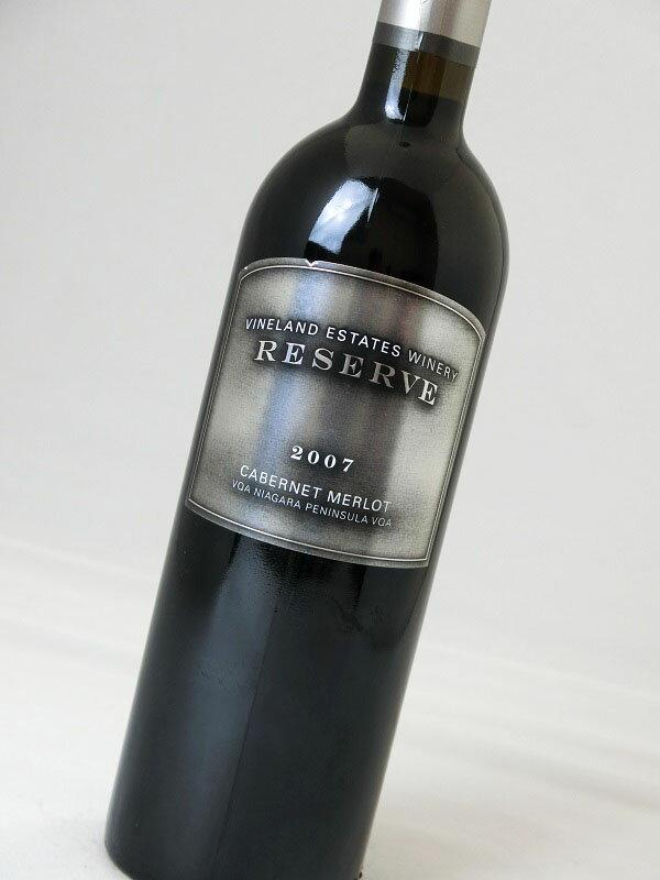 【カナダ】【赤ワイン】ヴァインランド・エステート・ワイナリー/カベルネ・メルロー リザーブ 2007