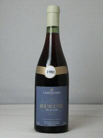 カーヴ・デュアール ブルグイユ 1981【フランス】【赤ワイン】