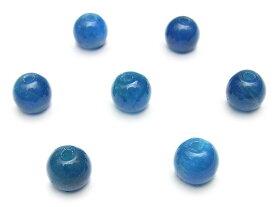 【粒販売】ブルーアパタイト 丸玉 6mm【5粒販売】