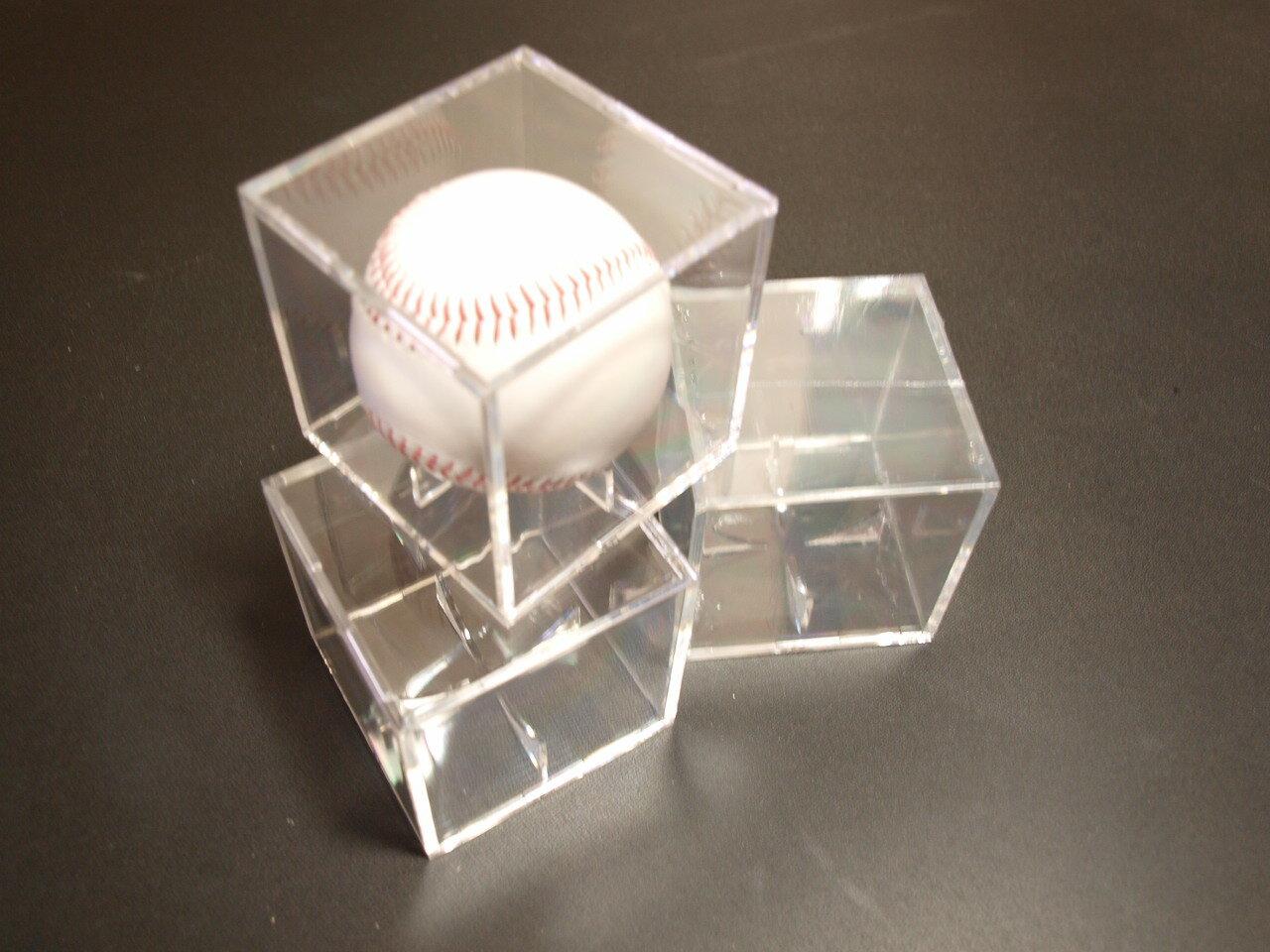 UltraPro UVケア カット!サインボールがコレクションケース付で!野球用品/記念グッズ/野球ボール/硬球、軟球/サインボールケース