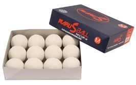 マルエスボール MARU S BALL 野球軟式M号球 軟式A号 公認試合球 マルエス  領収書発行可能!2ダースから送料無料!軟球 野球用品ボール 公認球 軟式ボール