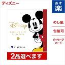 2品選べる ディズニー カタログギフト SMILEコース 送料無料 メッセージカード ラッピング ミッキーマウス グッズ 内…