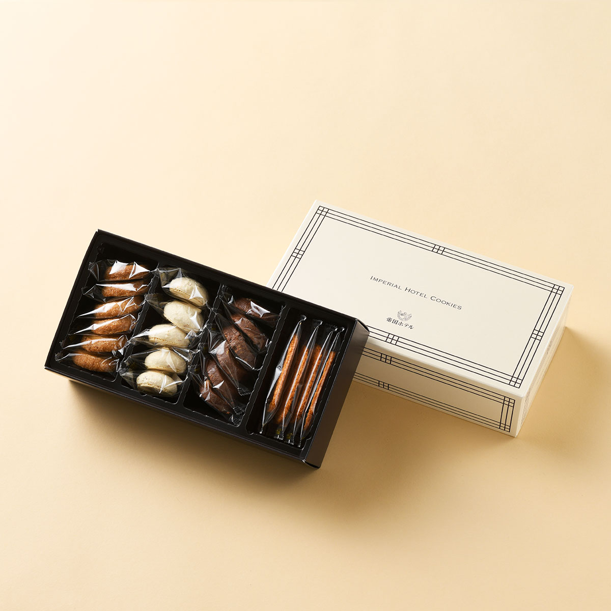 【3/25以降出荷予定】帝国ホテルクッキー 詰め合わせ セット(C-10N / 4種・21個入) / お歳暮