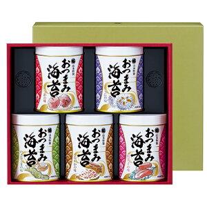 山本海苔店 おつまみ海苔5缶詰合せ (YOS3A) ※代引き不可