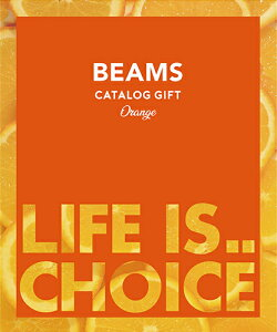 BEAMS CATALOG GIFT Orange (ビームスカタログギフト オレンジ)