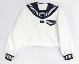 セーラー服 wcs-11 秋冬 かぶり 長袖セーラー No.1818 上着のみ レディース 濃紺 水色 グレー 小さめサイズ 普通サイズ
