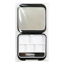 【メール便可】メイクパレット 300P 四角 スクエア 黒 ブラック コスメ カスタム 自作 オリジナル 鏡