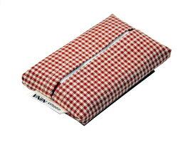 【送料無料】3個セット cottonNINAオリジナル シンプルポケットティッシュケース ミニサイズ ティッシュ入れ