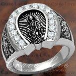 【メンズリング・男の指輪】ラッキーモチーフホースシューマリアリング/馬蹄形/指輪【Crave-LoveCostumeJewelryBijouxParis】