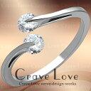 華奢なデザインの 一点留め ステンレス リング 指輪 女性 レディース リング 大きめ 大きいサイズ もあります。トラベルジュエリー 誕生日プレゼント 結婚式にも・・【 Crave-Love Jewe
