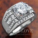 【メンズリング・男の指輪・メンズアクセサリー】豪華デザインメンズステンレスリングRM5-S|指輪|幅広|プラチナシルバーカラー|大きいサイズもあります。【Crave-Loveメンズジュエリー】