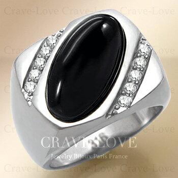 【メンズリング 男の指輪 メンズアクセサリー】ブラック オニキス シルバー ステンレス メンズ リング RM27 指輪 男性 幅広 | 黒色 メノウ 瑪瑙 ONYX | パワーストーン メンズ ファツション リング 大きいサイズ もあります。