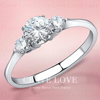 3ストーン トリロジー シルバー ステンレス リング 指輪 ltr-1 女性 レディース ファッション ジュエリー アクセサリー 大きいサイズ もあります。トラベルジュエリー 誕生日プレゼント 結婚式にも・・【 Crave-Love Jewelry bijoux Paris 】