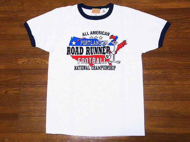 CHESWICK[チェスウィック] Tシャツ ロードランナー CH77677 リンガー ROAD RUNNER PORTLAND FOOTBALL (ホワイト) 【RCP】