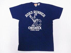 CHESWICK[チェスウィック] Tシャツ ロードランナー CH78497 ROAD RUNNER LEANING RR (ネイビー) 【RCP】