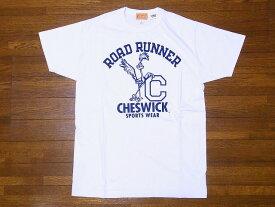 CHESWICK[チェスウィック] Tシャツ ロードランナー CH78497 ROAD RUNNER LEANING RR (ホワイト) 【RCP】
