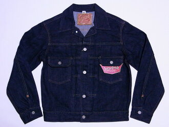 SUGAR CANE denim jacket 2 nd TYPE 1953 MODEL SC11953 (NAVY) cash on delivery fees