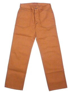 SUGAR CANE work pants Brown duck SC41511 Made in USA COTTON CANVAS WORK PANTS (BROWN) cash on delivery fees