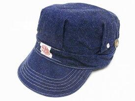 HEADLIGHT[ヘッドライト] ワークキャップ デニム HD02415 11oz. BLUE DENIM WORK CAP (NAVY)