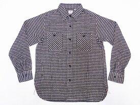 SUGAR CANE[シュガーケーン] ネルシャツ SC28229 ハウンドトゥース 千鳥格子 フランネルシャツ TWILL HOUNDTOOTH L/S WORK SHIRT (ベージュ) 送料無料 代引き手数料無料 【RCP】